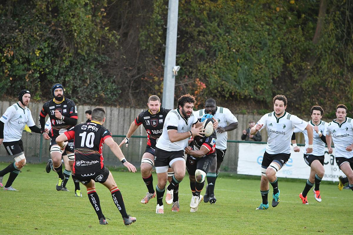 Fédérale 1 : Résumé de Suresnes / Rouen