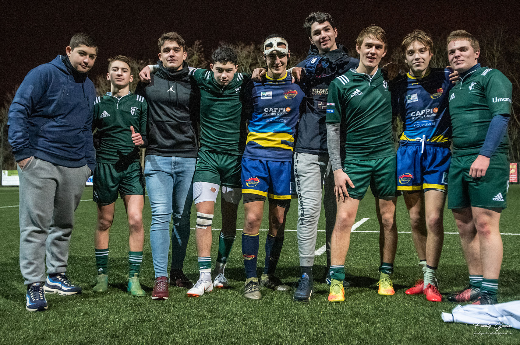 Juniors National U18 : photos de Suresnes / Courbevoie