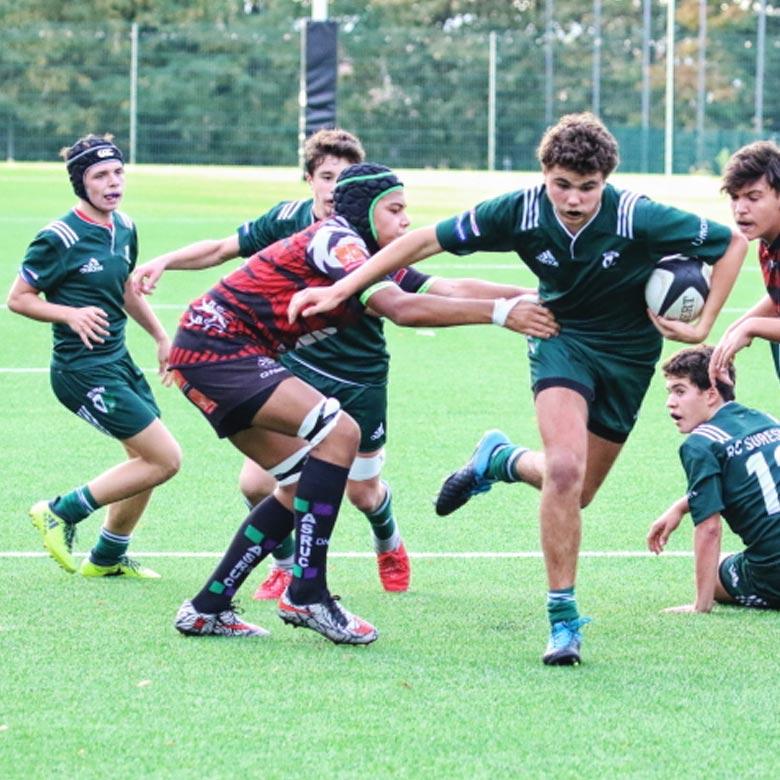 Les Cadets du Rugby Club Suresnes Hauts-de-Seine