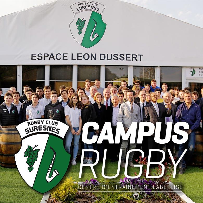 Campus Rugby - Centre d'Entraînement Labellisé