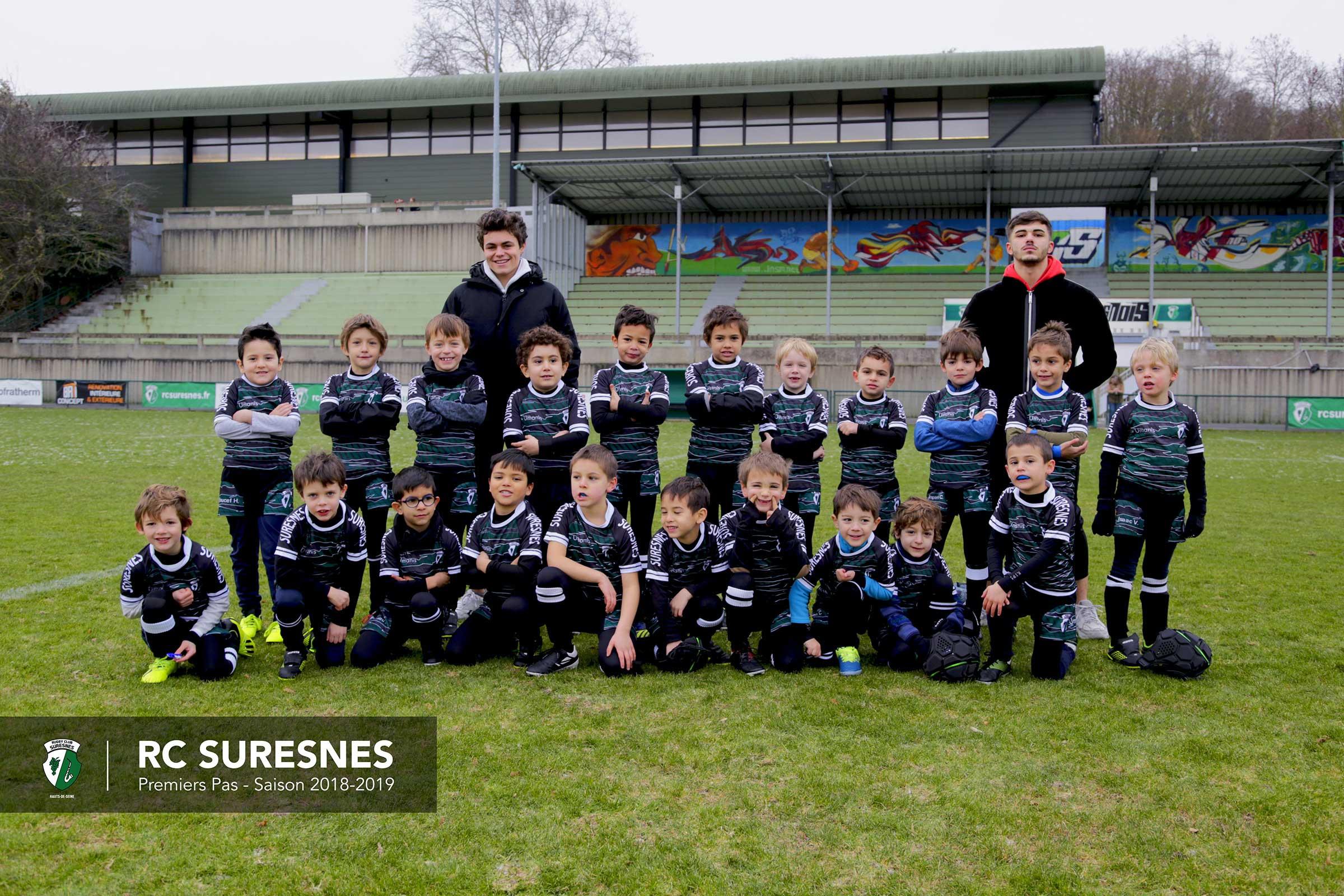 Les Premiers Pas du Rugby Club Suresnes Hauts-de-Seine / Saison 2018-2019