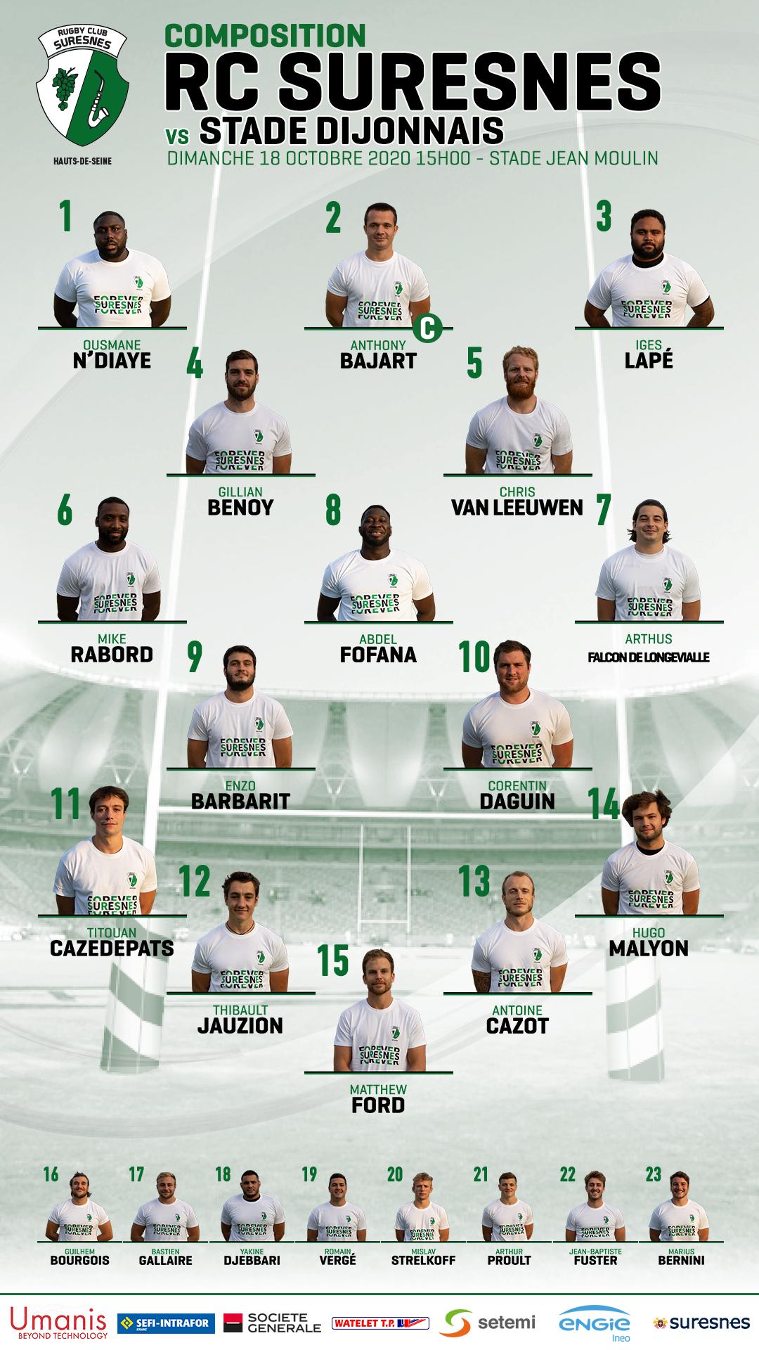 Compo RCS / Stade Dijonnais