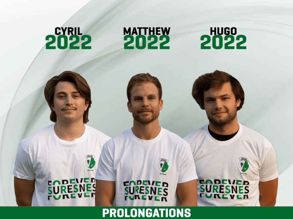 Prolongation Cyril CORNO, Matthew FORD, Hugo MALYON