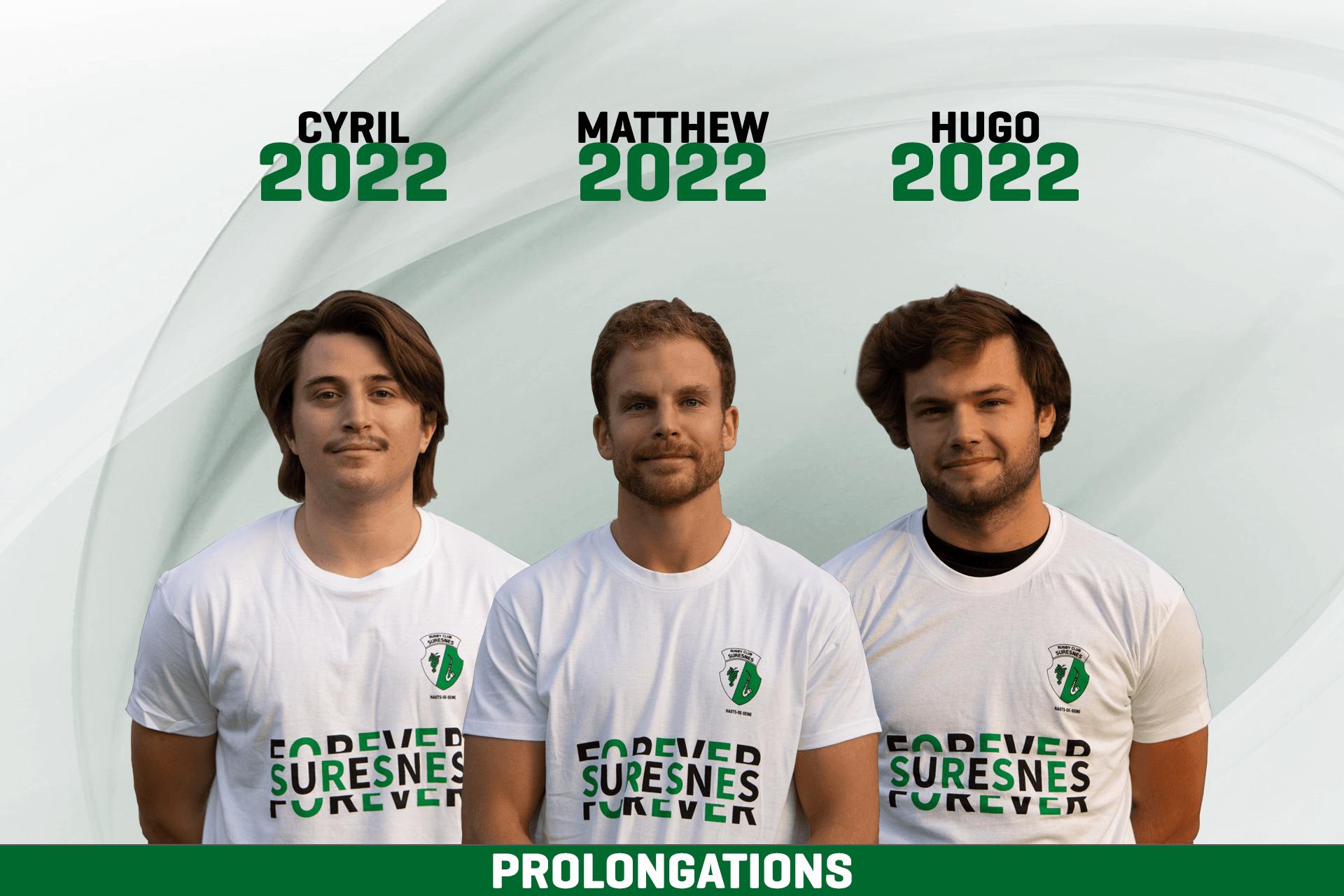 Prolongation Cyril CORNO, Matthew FORD, Hugo MALYON
