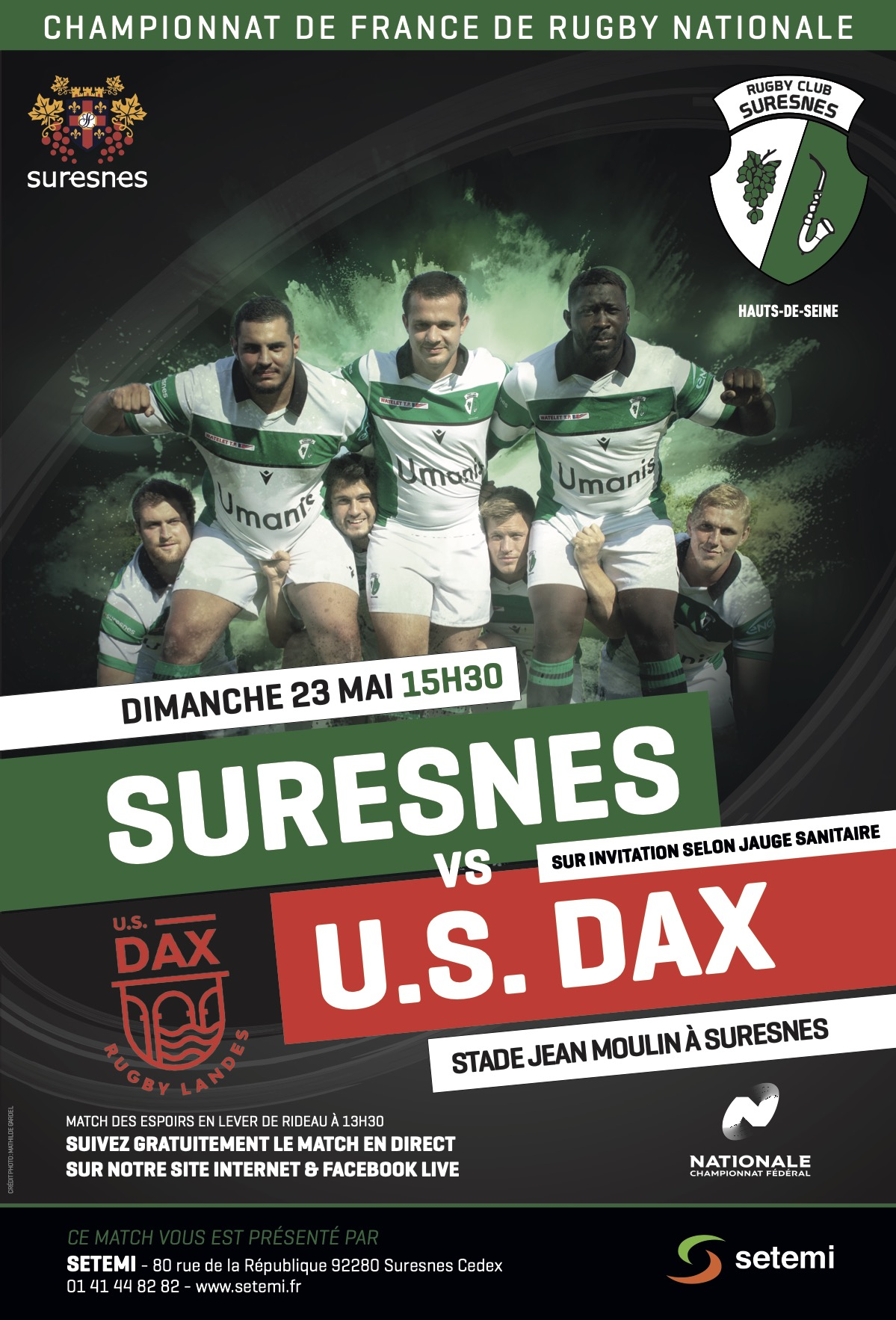 AFFICHE-RUGBY-Nationale-rcs-dax