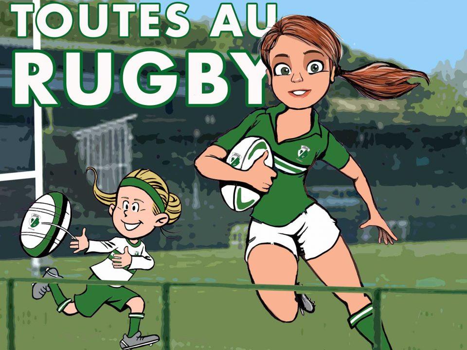 Toutes au rugby